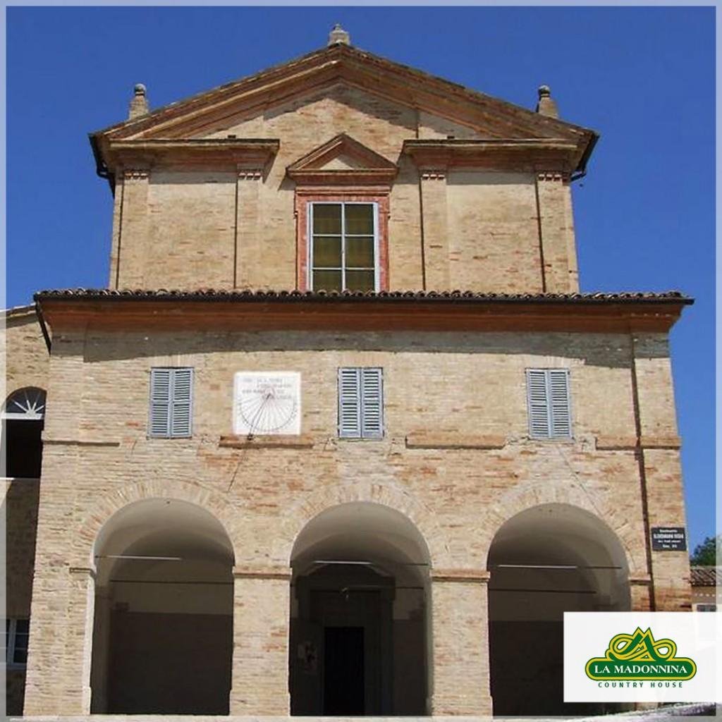 Agriturismo Marche vicino Chiesa di S. Giacomo della Romita